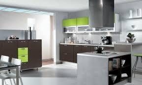 cuisine gris et vert anis design cuisine grise mur vert anis 73 limoges photo cuisine