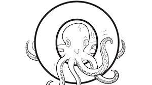 alphabet series o octopus grandparents com