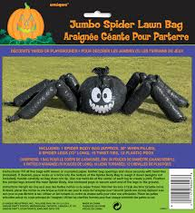 halloween giant spider lawn leaf bag decorations prop halloween