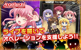 angel beats angel beats operation wars steparu u0027s gaming apps