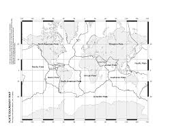 Label The World Map Worksheet by Plate Tectonics Ms Ash U0027s Science Website
