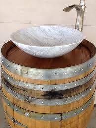 Wine Barrel Vanity 36 Best Wine Barrel Sink Images On Pinterest Wine Barrel Sink