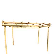 bamboo pergola kit 3 x 4 m