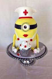 Minion Cake Decorations 25 Cute And Creative Cakes For Nurses Nursebuff
