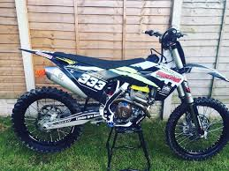 motocross bikes for sale uk husqvarna fc 250 2016 like new l k motocross bike not kxf