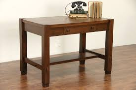 arts and crafts table for sold arts crafts mission oak 1905 antique cadillac desk library