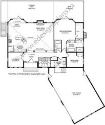 bungalow floor plans with walkout basement plan 2011545 ranch style bungalow with walkout basement a well