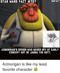 Jabba The Hutt Meme - swfact star wars fact 727 azmorigan s design was based off of early