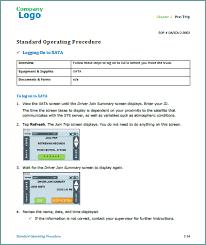 standard operating procedures u2013 karen rempel u2013 new york technical