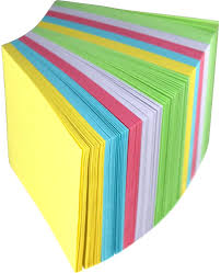 color paper color paper cube 500 sheets 80x80mm stationery