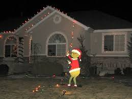 grinch christmas lights grinch pulling the christmas lights way to do it so you