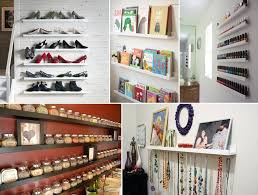 20 clever ideas to use ikea picture ledges