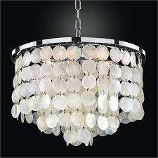Glow Lighting Chandeliers Capiz Shell Chandelier Bayside 636