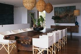 Slipcovers Dining Chairs Canvas Slipcovered Dining Chairs Eclectic Dining Room Sarah