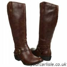 boots uk wide calf s b o c knee boots boots coffee enya wide calf 73 26