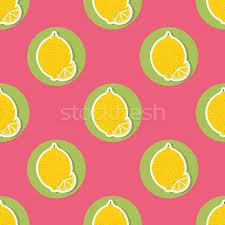 seamless lemon pattern lemon pattern seamless texture with ripe lemons vector illustration