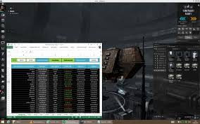 Online Spreadsheet Program How To Do Manufacturing In Eve Online With Excel Youtube