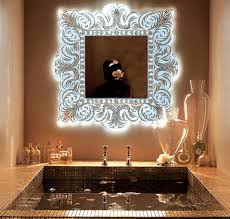 Unique Bathroom Mirror Frame Ideas Modern Wall Mirrors New Design Ideas For Unique Room Decor