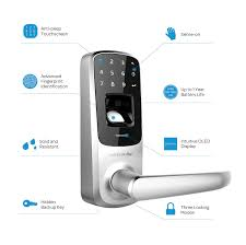 amazon com ultraloq ul3 fingerprint and touchscreen keyless smart
