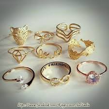 beautiful golden rings images Beautiful rings home facebook