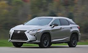 lexus suvs 2017 2017 lexus rx350 u2013 review u2013 car and driver