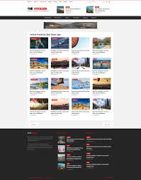 bmw magazine ads the voyager multi purpose magazine and blog html template by tonjoo