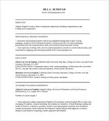 tutor resume template u2013 11 free word excel pdf format download