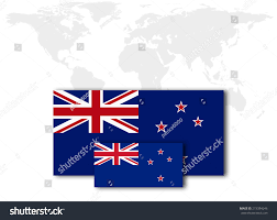 Nee Zealand Flag New Zealand Flag World Map Yonkers Map