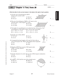 100 pdf geometry test mcgraw hill answers chapter 16