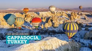 cappadocia turkey air balloon ride at sunrise the poor