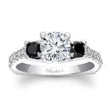 white and black diamond engagement rings barkev s black diamond engagement ring 7925lbk barkev s