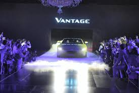 purple aston martin aston martin vantage launched in dubai u2013 in pictures the national