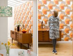 Retro Home Design Inspiration How To Create Unified Space With Pattern 2017 Also Retro Interior