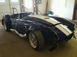 salvage title for sale salvage 1965 ford cobra kit coupe for sale salvage title
