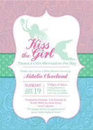 mermaid baby shower ideas create own mermaid baby shower invitations printable egreeting
