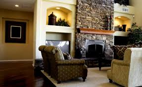 cool interior design and living room ideas corner fireplace tv