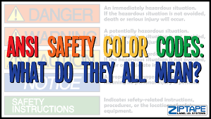 color codes osha color codes label id systems blog
