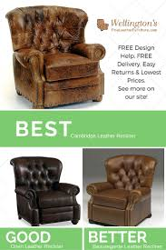 real leather swivel recliner chairs best 25 leather recliner chair ideas on pinterest leather