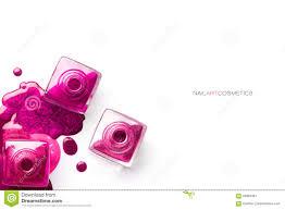 nail art concept different shades of metallic pink nail polish
