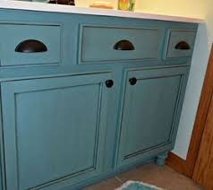 Dewils Creme Brulee Paint With by Hand Painted Glazed Cabinets