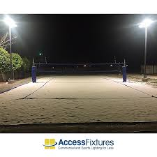 led volleyball court lighting 20 avg fc quick ship recreation