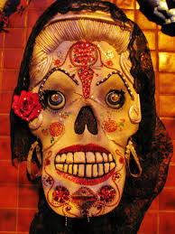 Day Of The Dead Masks Day Of The Dead Aztec Dance Honoring The Soul U0027s Rest