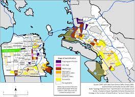 san francisco map east bay socketsite the gentrification of san francisco and oakland by