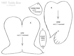 1907 teddy bear pattern 2 by viergacht on deviantart
