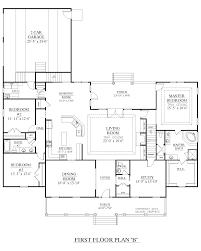 1 Story House Floor Plans Houseplans Biz House Plan 2890 B The Davenport B