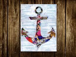 anchor decor coastal wall art valentine gift ideas for her