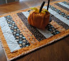autumn quilted table runner beatnik
