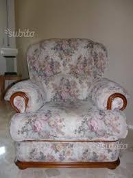 poltrona usata poltrona usata vintage tessuto ciniglia arredamento e casalinghi
