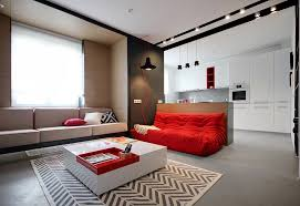 apartment themes designs by style bold apartment color themes red and blue two