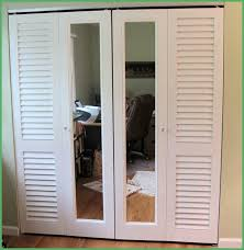 Louvered Closet Doors At Lowes Lowes Makeover Bedroom Reveal Closet Doors Window Diy Gorgeous